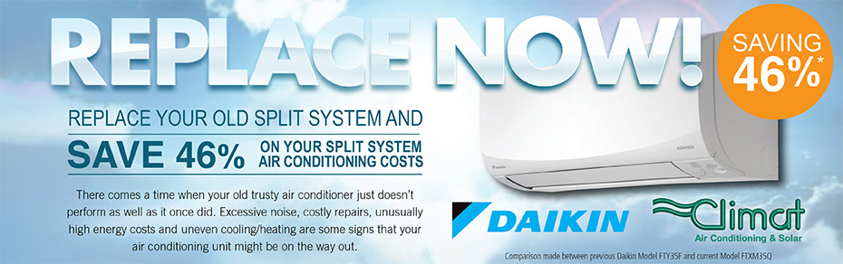 Daikin Split System Air Conditioning