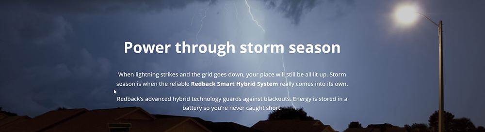 Power Through Storm Season