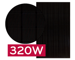 LG320N1K LG Neon 2 Black Solar Panel